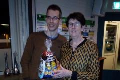 Jaqueline en Sandy 1e plaats poule B