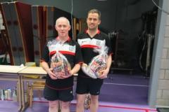 Lars en Louis 1e plaats poule A