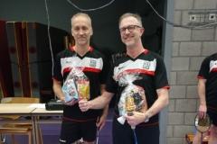 Wilbert en Günter 2e plaats poule A